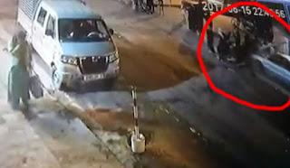 حادت  خطير  دهس  نساء  في الشارع العام