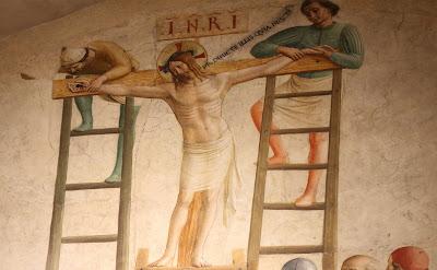Jesus pregado na cruz - Imagem, pintura, #1