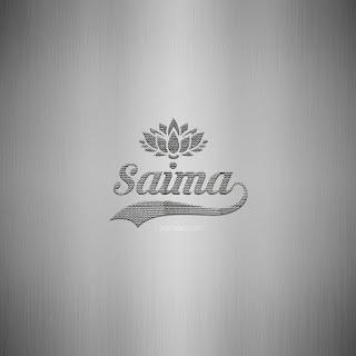 Saima Name DP