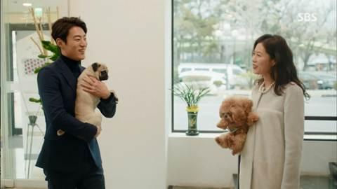Screenshot hyung with his Dog The Legend Of The Blu Sea (2016)  1080p Episode 10 - www.uchiha-uzuma.com