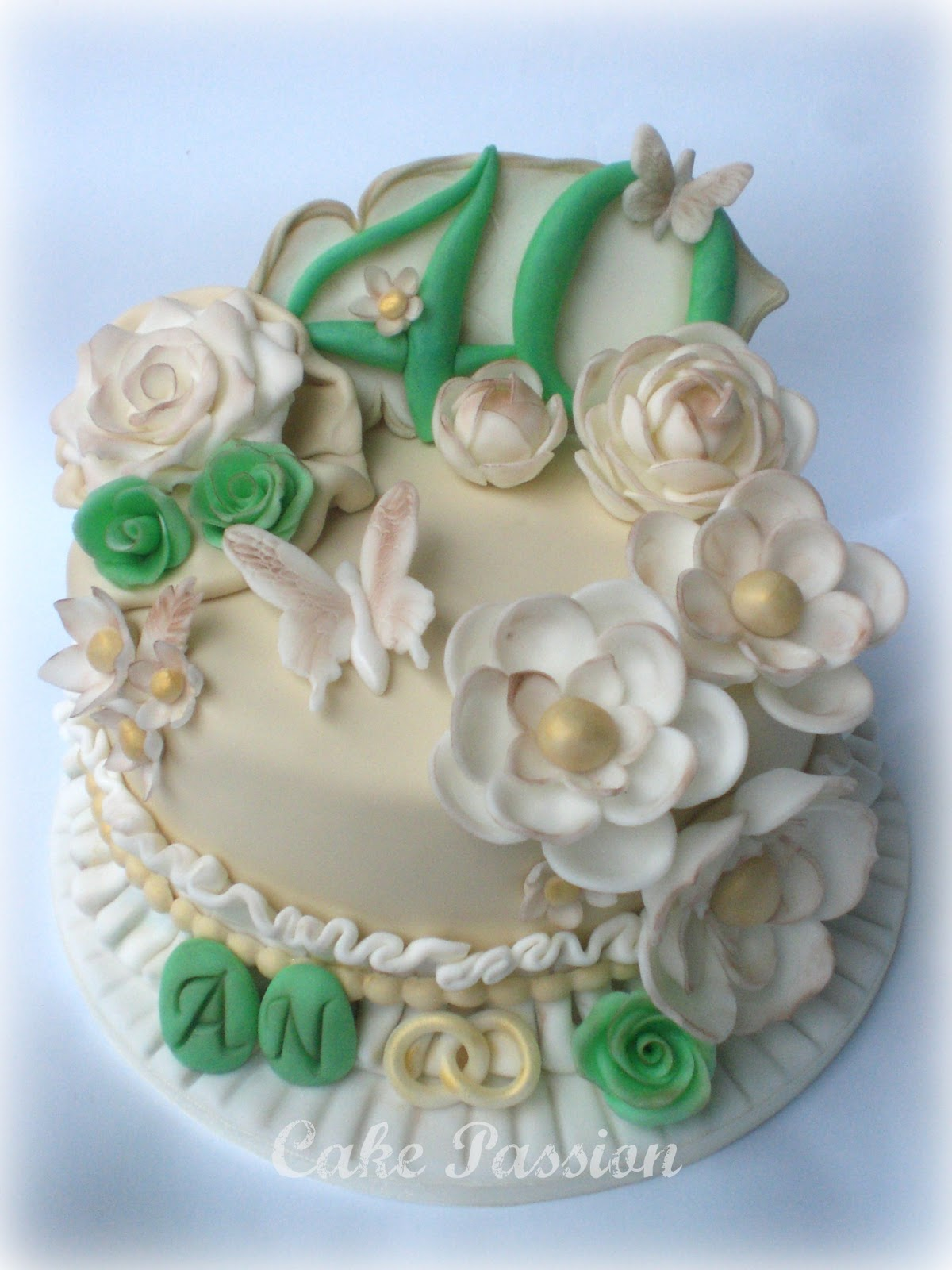 Preferenza Cake Passion: Wedding Emerald - 40th Wedding Anniversary IF27