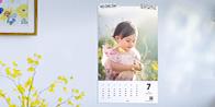 自分の写真で作る壁掛けカレンダー TOLOT毎月カレンダー