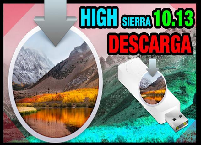 MacOS High Sierra 10.13 (Anteriormente OS X) Español [MG-MF]