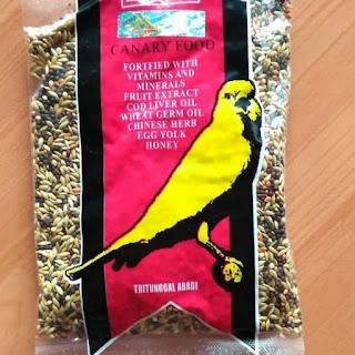Makanan Burung Kenari