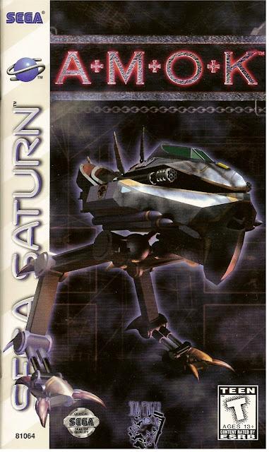Amok ISO Sega Saturn