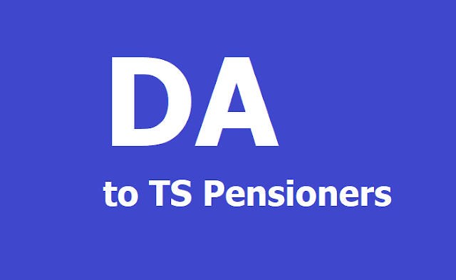 New DA to TS Pensioners from 01.01.2019