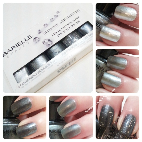 Barielle Swatches