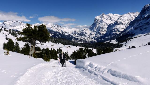 Mannlichen to Kleine Scheidegg, Bernese Oberland, Switzerland