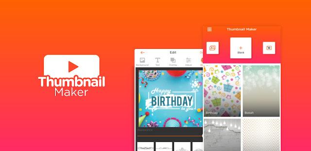 تحميل تطبيق  Thumbnail Maker Pro - إنشاء لافتات وأغطية وشعارات   - تطبيق صانع الصور المصغرة  لنظام الاندرويد