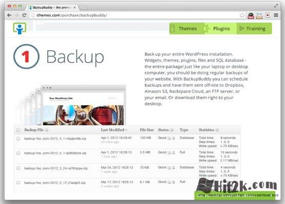 Backup Buddy 5.0.4.6 WordPress Plugins