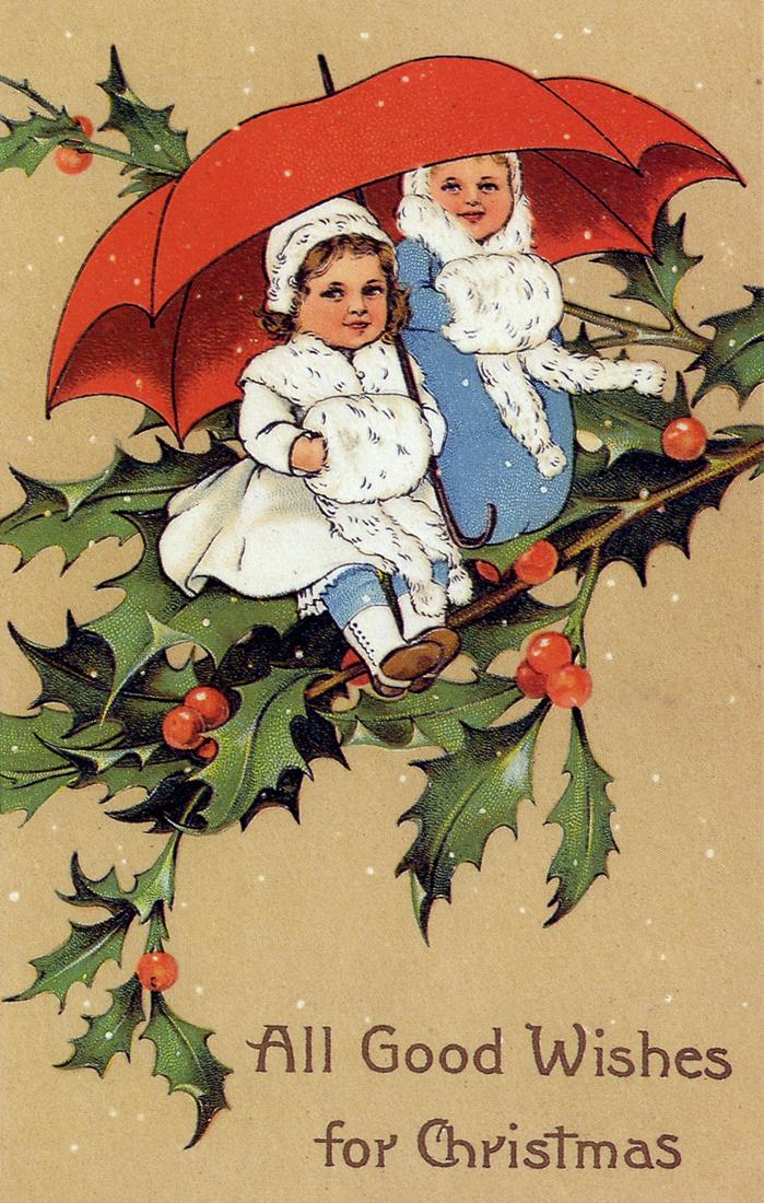 cindy adkinsart books tea vintage christmas cards