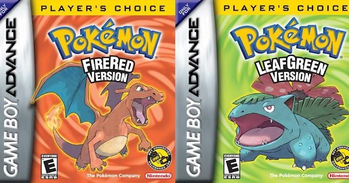 Dicas para jogar os remakes Pokémon Fire Red e Leaf Green no GBA