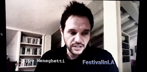 Filippo Meneghetti director of Two of Us, Rome. Festival in LA ©2021
