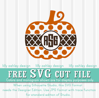 free svg file great for monogram