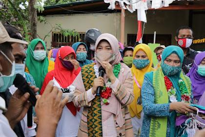 "Kuatkan Protokol Covid-19, TP. PKK NTB Mulai Gelar ""Gebrak Masker"" di Pulau Sumbawa"
