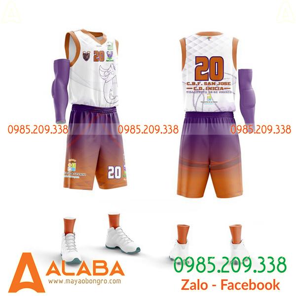 Áo bóng rổ tự thiết kế cool ngầu