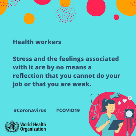 Health workers care for your mental heath