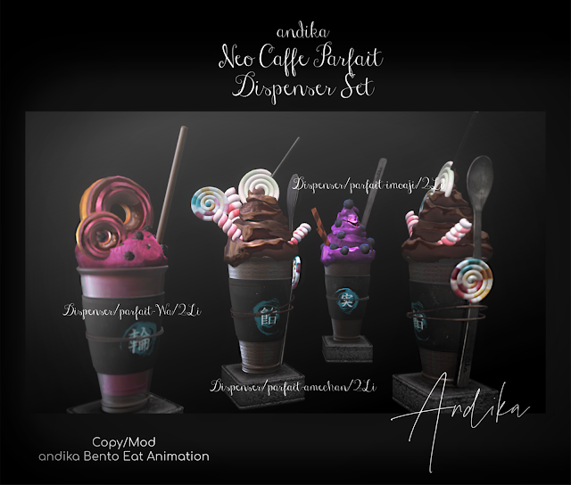 andika [Neo cafe Parf・・・