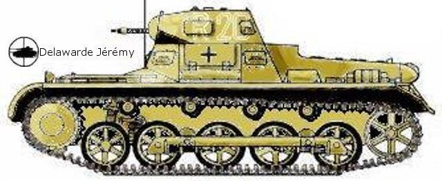 Panzer I ausf B, 5ème leichte division, Lybie, 1941-1942.
