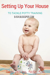 Setting Up Your House to Tackle Potty Training