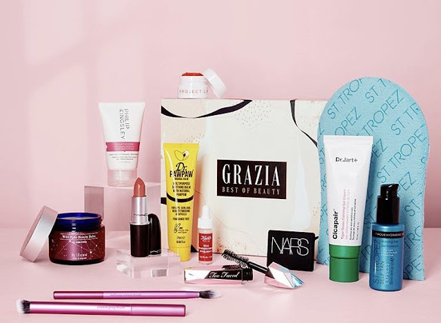 Glossybox x Grazia Best of Beauty Box July 2020