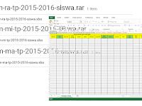 Download Kumpulan Format Pendataan Siswa Emis Untuk Tingkat RA/TK/PAUD, MI/SD, MA/SMA