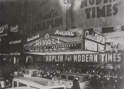 Estreno Tiempos modernos, 1936