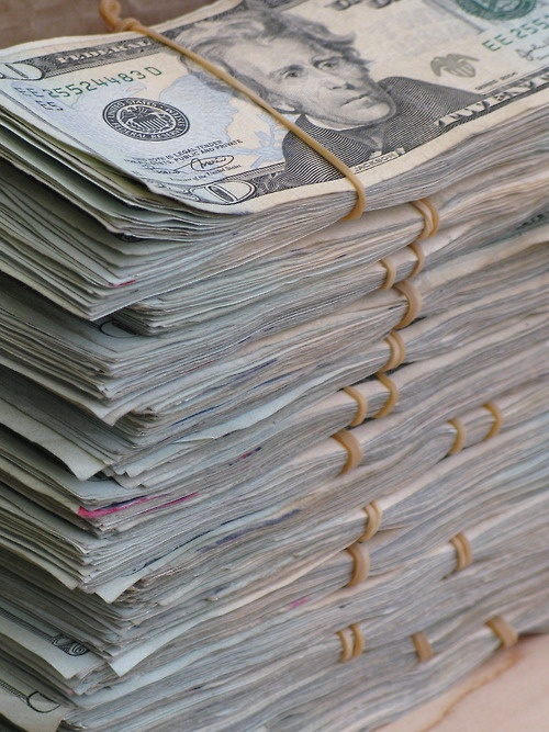 For The Rap Music Slang Challenged Out There That Translates To Stacks Of Money Piled On Top One Another Where In Are Racks Upon