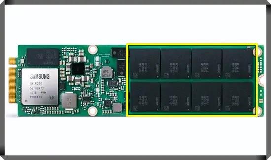 SSD NAND Flash Memory
