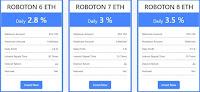 Инвестиционные планы FxRoboton 5