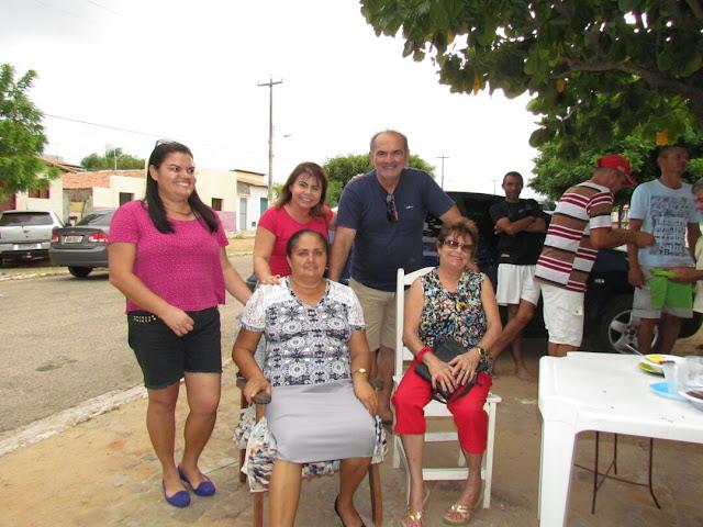 Vereadora Maria Zilda, Tácia Castro e Carlos Montenegro