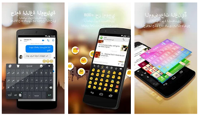 aplikasi android font arab