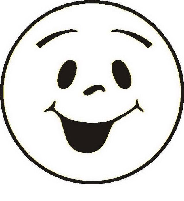 COLOREA TUS DIBUJOS: Happy face para colorear y pintar