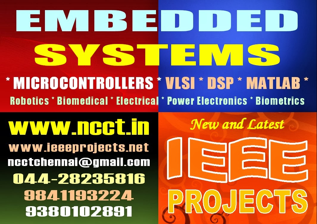 NCCT - PROJECT IMAGE GALLERY: Embedded System Project Kits