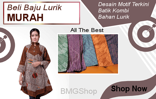 Model Baju Lurik Modern Modis