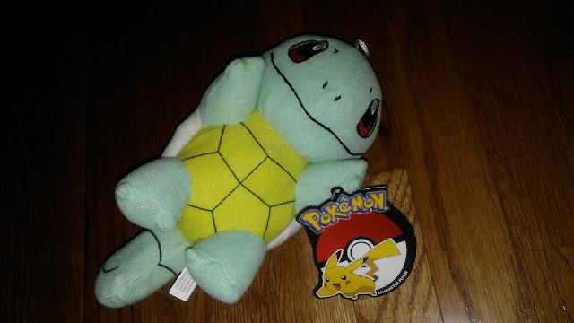 Pokemon Squirtle plush toy mystery bag youmacon 2017
