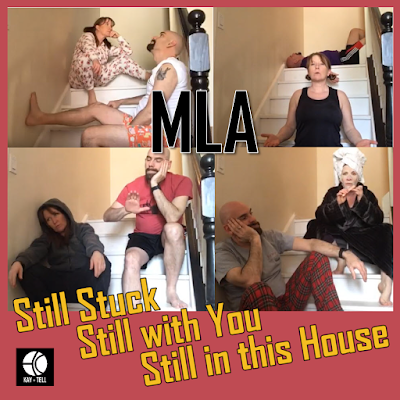 Kat-Tell Parody Album Cover: Still Stuck, Still with You, Still in This House