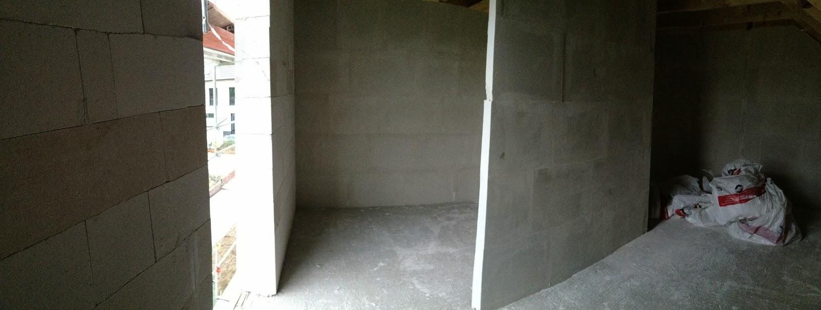 hausbau von mario diana innenw nde und dach. Black Bedroom Furniture Sets. Home Design Ideas
