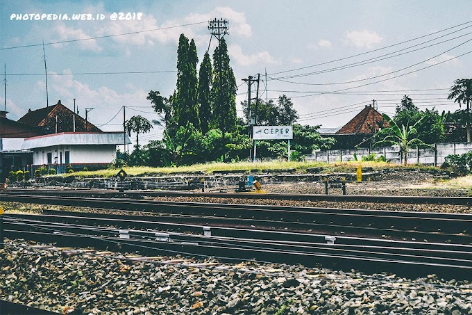 Stasiun Kereta Api Ceper dan Delanggu Klaten