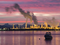 An oil refinery near Anacortes, Wash. (Credit: Dana/flickr) Click to Enlarge.