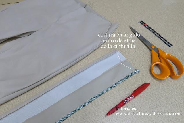 truco de costura para pantalón ajustado