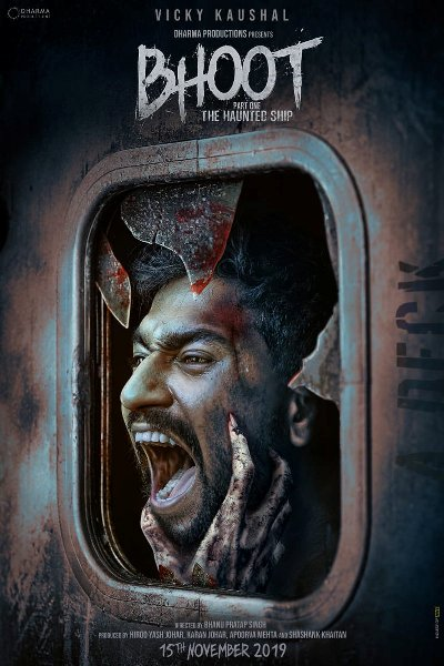 Bhoot - The Haunted Ship new upcoming movie first look, Poster of Bhumi, Vicky next movie download first look Poster, release date
