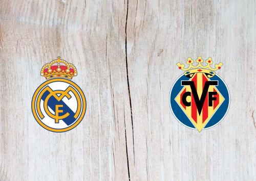 Real Madrid vs Villarreal -Highlights 16 July 2020