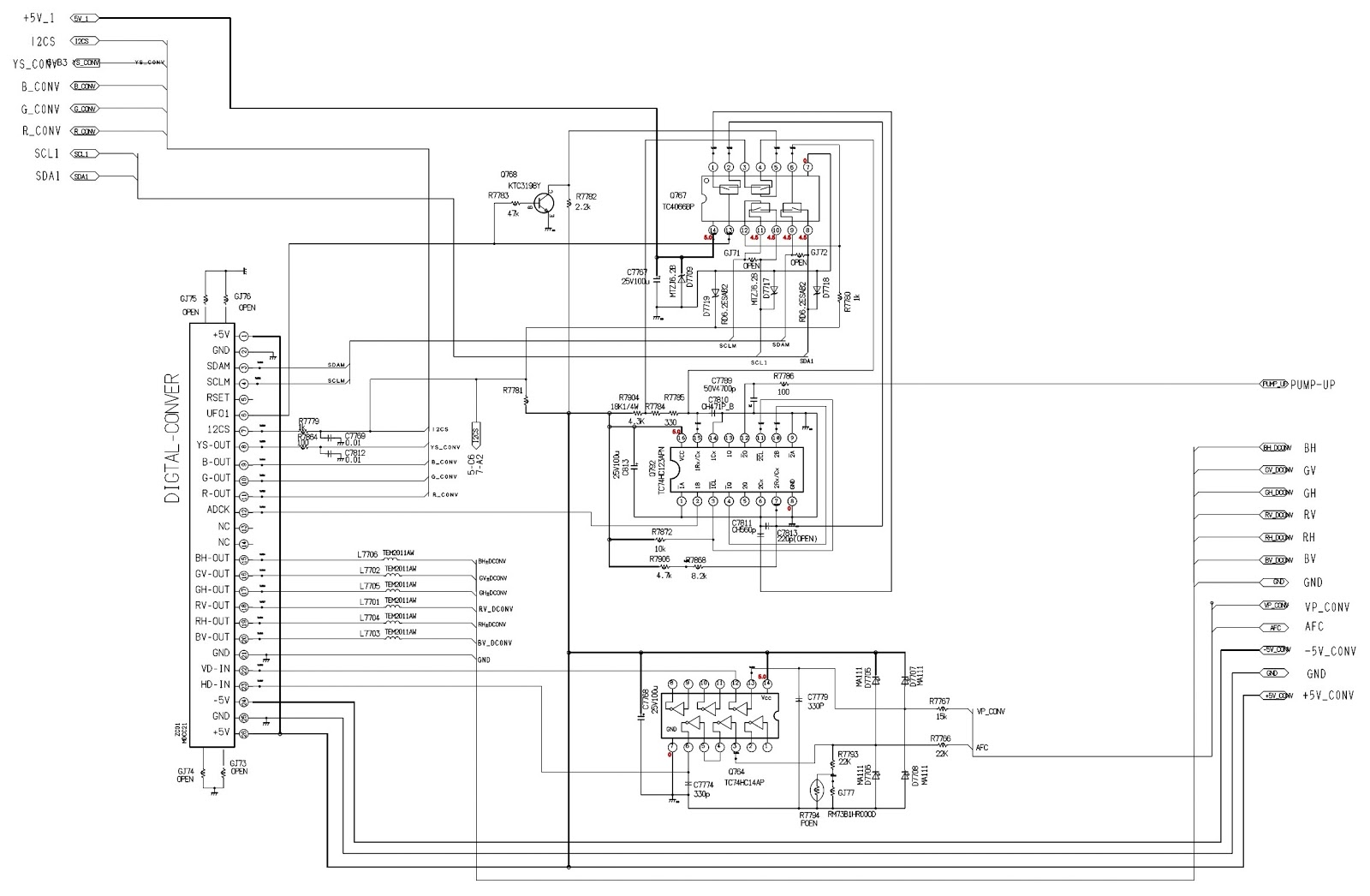toshiba tv parts diagram toshiba 50 inch projection tv - smps schematic | electro help toshiba tv schematic diagrams