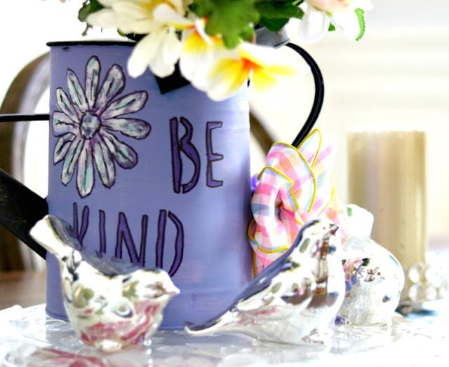 garden, decor, vase, watering, can, craft, homemaker, decorator.