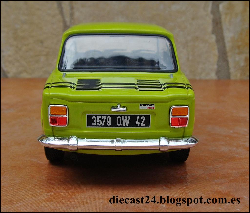 1 24 miniaturas simca 1000 rallye 2 auto vintage de luxe collection hachette 1 24 entrega 18. Black Bedroom Furniture Sets. Home Design Ideas