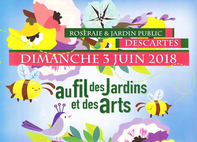 Image result for au fils des jardins Descartes 2018