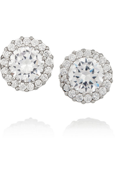 Boucles d'oreilles Kenneth Jay Lane - 56€ - NETAPORTER