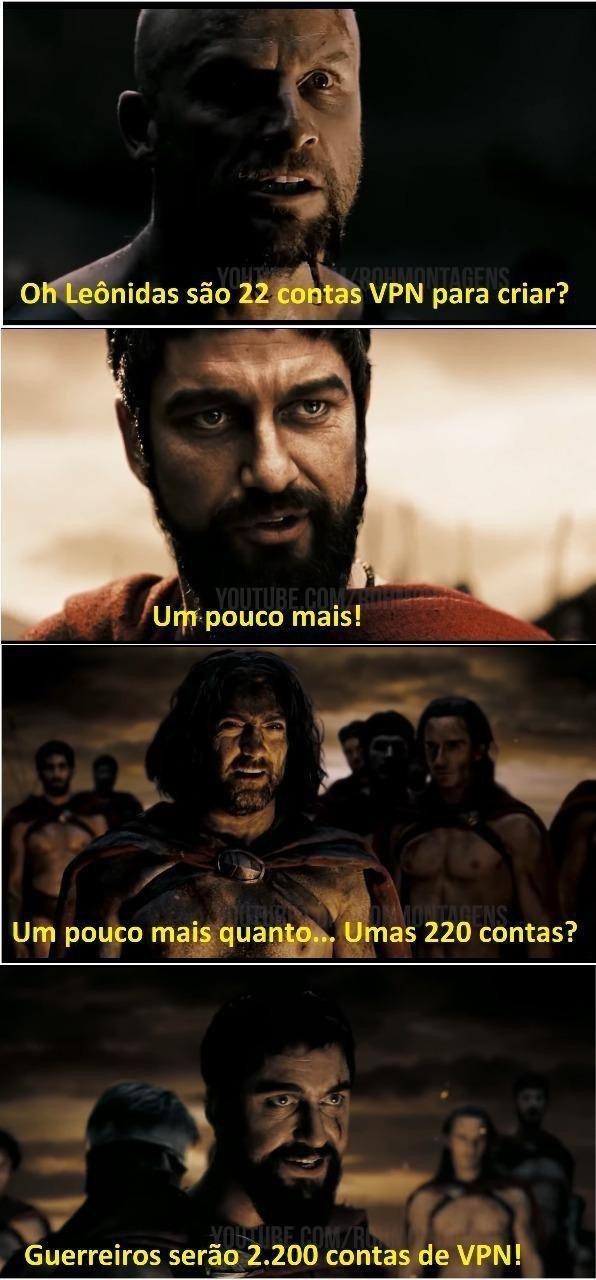 2200 contas de vpn