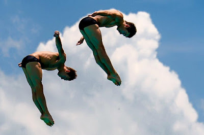 Tom Daley and Danniel Goodfellow